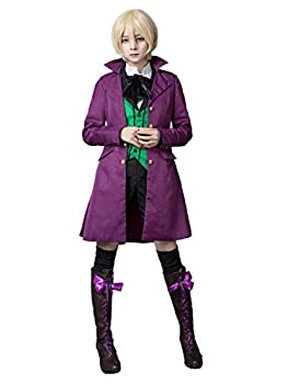 Cosfun Women s Alois Trancy Cosplay Custome Halloween Outfit mp002451 X-Small