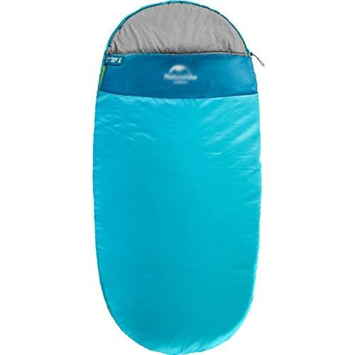 Durable et beau Sac de couchage Outdoor Voyage Camping Coton Polyester Tissu épais chaud adulte Voyage imperméable intérieur respirant Portable simple Confortable et portable ( Color : A , Size : XL )