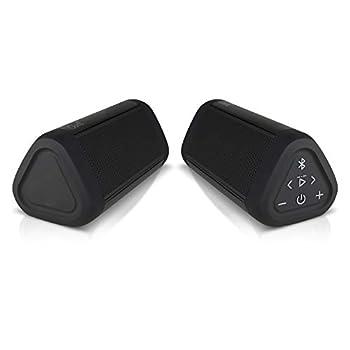 OontZ Angle 3 Ultra  4th Gen  Waterproof 5.0 Bluetooth Speaker Two Speaker Edition 14 Watts Hi-Quality Sound & Bass 100 Ft Wireless Range Bluetooth Speakers by Cambridge SoundWorks  Black