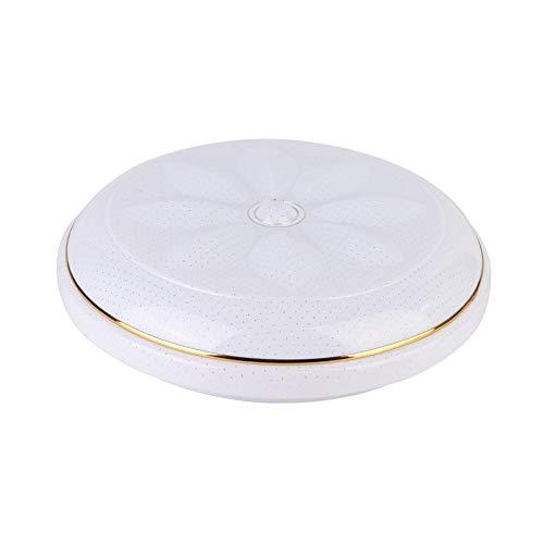 Wi-Fi LED-plafondlamp, AC85-265V 48W 15.8inch RGB + W Smartphone-gecontroleerde Wi-Fi Smart LED-plafondlamp voor Home Bar Hotel