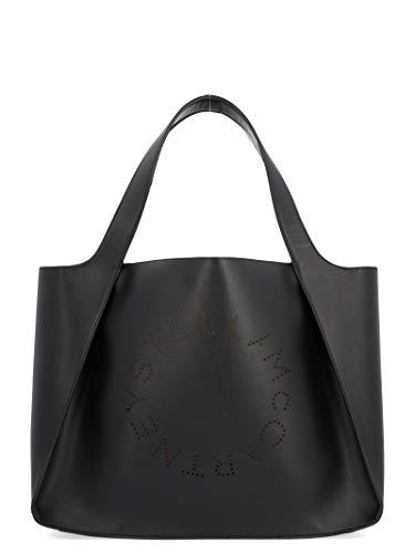 Stella McCartney Moda De Lujo Mujer 502793W85421000 Negro Poliuretano Bolso Tipo Shopper | Temporada Permanente