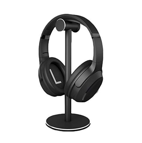 Auriculares de pie, de aleación de aluminio del auricular del auricular del juego Soporte de escritorio Soporte de mesa escritorio de soporte de exhibición soportes de suspensión todos los tamaños de