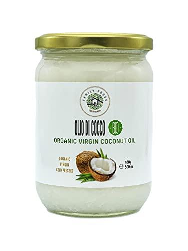 Aceite de Coco BIO 500ml Virgen, prensado en frio, NO refinado