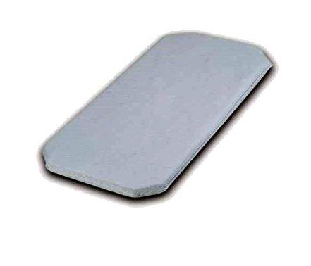 Colchón Látex Antiahogo y Transpirable para Coche y Capazo 75x35