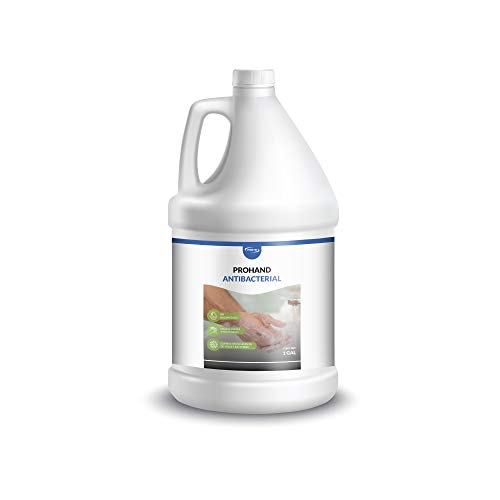 MEX-AR Mex-ar Prohand Antibacterial (jabón Líquido Antibacterial, Aroma Almendra), color Blanco Nacar, 4 L, pack of/paquete de