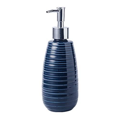 Dispensador JabóN Dispensador De Jabón con Diseño De Patrón De Espiral Accesorios De Baño De 4 Piezas Conjunto Conjunto Soporte De Cepillo De dispensador de jabón (Color : Soap Dispenser)