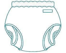 パンツ型おむつカバー/ 18-11002 Mサイズ