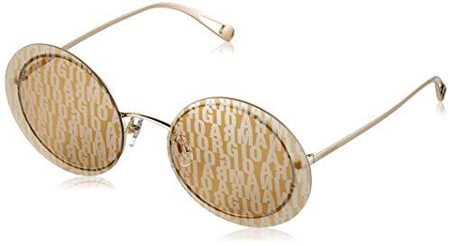 Ray-Ban dames 0AR6087 zonnebril, bruin (lichtgoud), 59,0