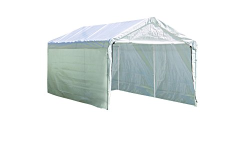 ShelterLogic SuperMax Enclosure Kit, 10 x 20 ft. (Frame and Canopy Sold Separately)