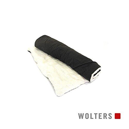 Wolters Grey Essentials Reisedecke für unterwegs, 100 x 70 cm
