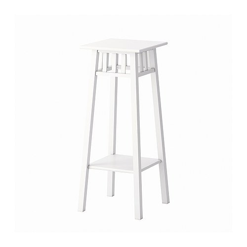 Ikea LANTLIV - Plant Stand White - 78 cm