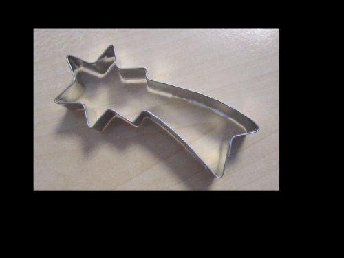 Moldes para galletas en forma de Mini Cometa, Plata, 6,5 cm