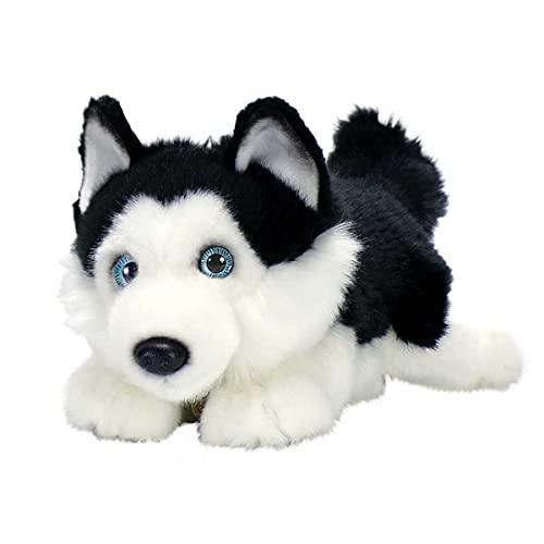 Aurora World Miyoni Lying Husky Plush (Black)