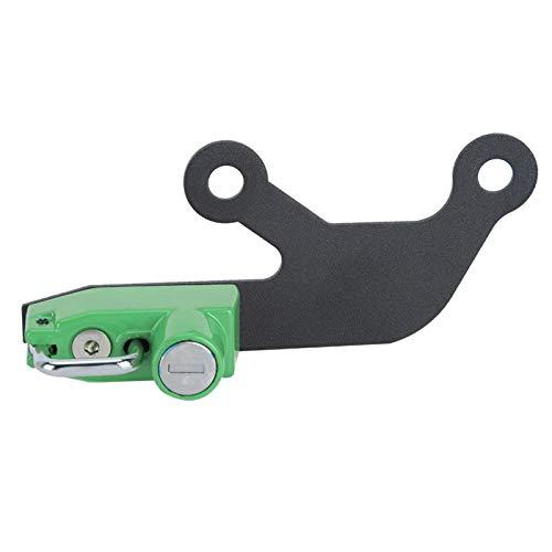 Socobeta -Cierre antirrobo para Casco para Ninja 650 Z 650(Green)