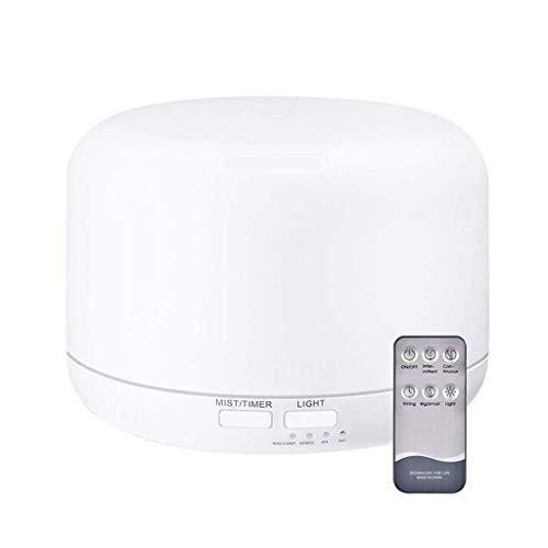 Kunyun 300ml de Control Remoto por ultrasonidos humidificador de Aire del Aroma con 7 Luces LED de Color eléctrico aromaterapia Aceite Esencial del difusor del Aroma
