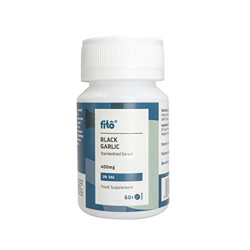 Fito Black Garlic 400mg 1% SAC, 60 Tablets