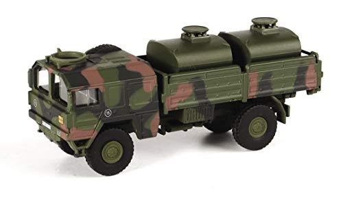 Schuco 452636400 5t tankwagen, military, modelauto, vrachtwagen, 1:87 camouflage