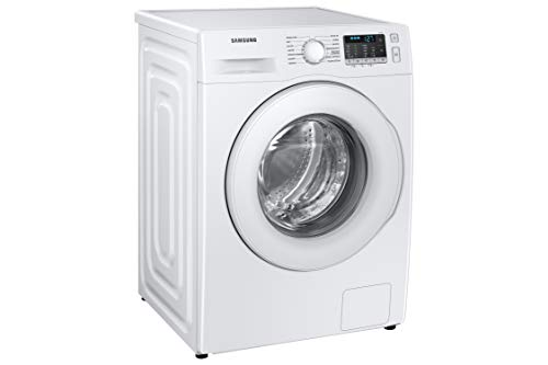 Samsung Elettrodomestici WW80TA046TT/ET Lavatrice 8 kg, Crystal Clean, 1400 Giri, Bianco