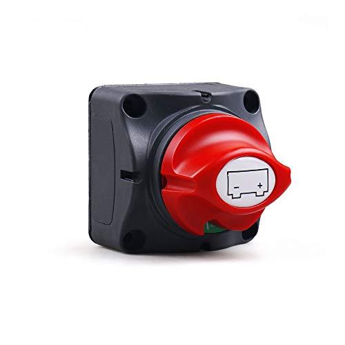 JLMOH Interruptor de Encendido, Coche Auto RV Barato Marino Selector de batería Aislador Desconecte el Interruptor Giratorio Corte 12V-60V 100A-300A