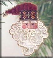 Santa Noel - Cross Stitch Kit by Mill Hill