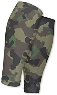 Support Circulation Camo Army Camouflage Military Travel Calf Sleeves Compression Socks Perfect product image