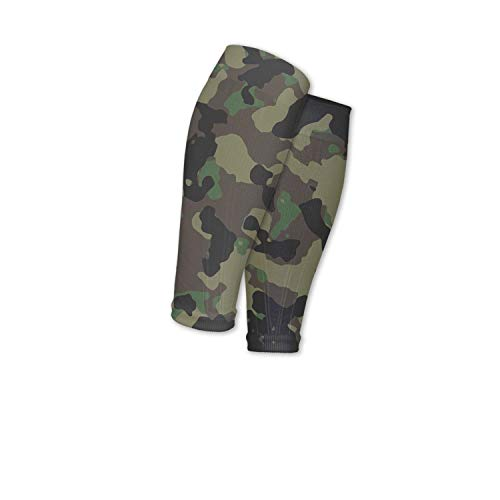 Support Circulation Camo Army Camouflage Military Travel Calf Sleeves Compression Socks Perfect For Men Women
