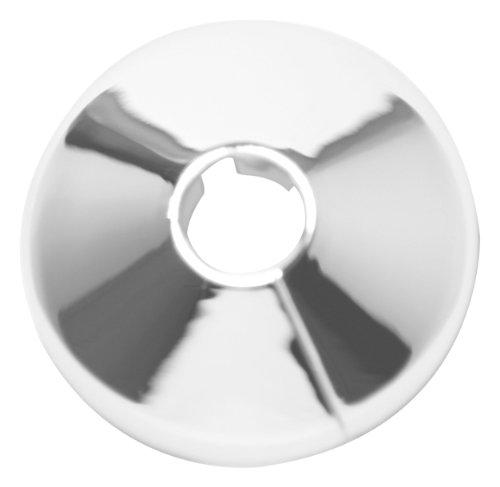 Plumb-Pak - Plafón embellecedor para tubos de 15 mm (6 unidades), color cromado