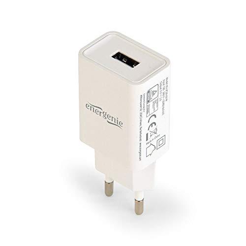 Gembird EG-UC2A-03-W laddare för mobilenheter inomhus vit - laddare för mobilenheter (inomhus, AC, 5 V, vit)