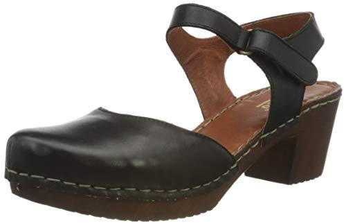 Manitu Damen 910997 Sandale mit Absatz, 1