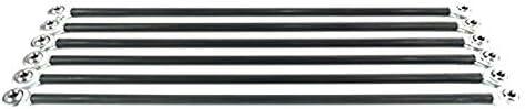 Gaoominy 6Pcs/Set Parallel Manipulator Fisheye Carbon Rod Kits for M3 20Cm Screws Kossel Delta 3D Printer Parts Accessories