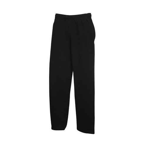 Fruit of the Loom, Pantaloni da Jogging Black Small