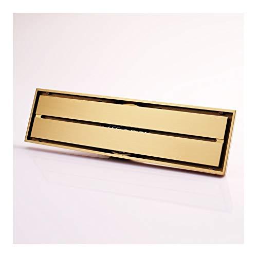 Handheld Desagüe en el piso for el baño Escurridor clásico Tipo de desodorización del baño Color dorado Línea de latón Desagüe en el piso Para el baño