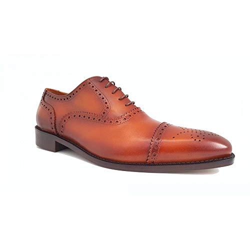 zapato ingles picado hombre