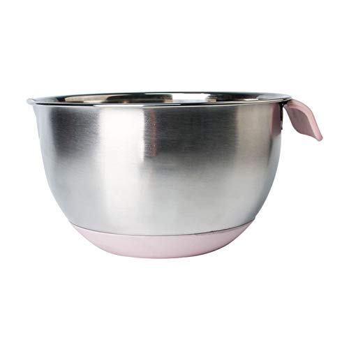 ZHENZEN Stainless metal mixing bowl salad bowl Multifunctional mixing bowl Kitchenware With scale and deal with High capability Easy to scrub