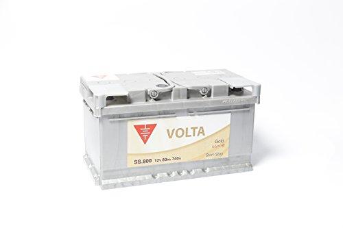 Bateria de coche 80 Ah start stop EFB +Dcha