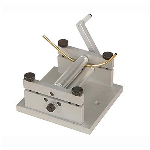 Máquina de Laminación de Placas Manual de Bricolaje, Mini Máquina Dobladora de Tubos de Metal Blando de Hoja de Metal Suave S/N: 20013