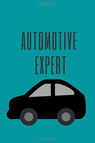 automotive expert.: A notebook/ journal paper, 100 pages, 6*9.