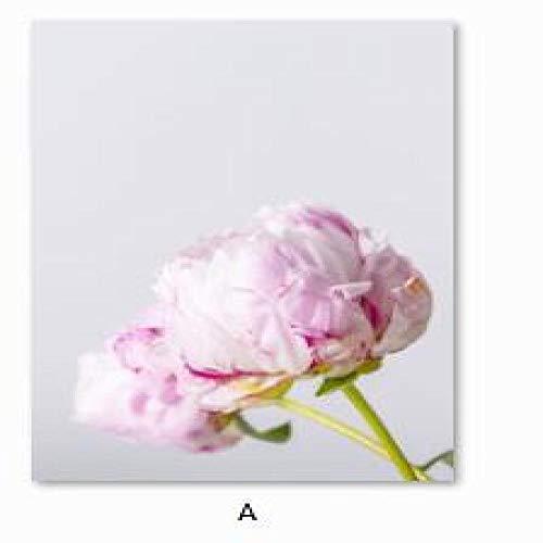 Geiqianjiumai Nordic roze tuinman vrouw kunst poster canvas kunst landschap moderne schilderij muurschildering huisdecoratie