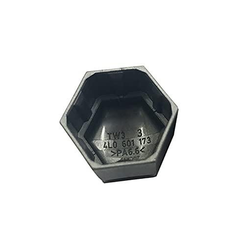 Gtfreedom Tapa de Tuerca de Rueda Casquillo de Rosca del Anillo de Acero de la Cubierta Decorativa del Eje de la Tuerca del neumático del automóvil, para Audi Q7 2007-2016
