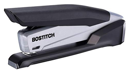 Bostitch Office Executive Stapler – 3 in 1 Stapler – One Finger, No Effort, Spring Powered Stapler, Black/Gray (INP20) for $9.29