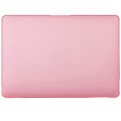 2020 Marble Laptop Case for Apple MacBook Air 13 M1 Case for MacBook Pro 12 Case Touch Bar for MacBook Pro 13 Case 15 16 Funda-Matte Pink-12 Inch A1534 A1931