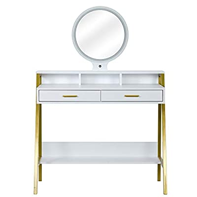 Dressing Table Makeup Table Bedroom Wood Dressi...