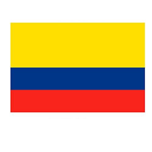 Naicasy 90*150cm 0,9x 1,5m bandiera Colombia 1confezione