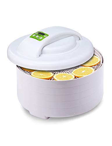 Lowest Prices! MS Fruit Food Dryer Food dehydrator - fruit dryer intelligent temperature setting, ea...
