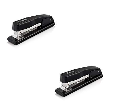 Swingline Stapler, Commercial Desk Stapler, 20 Sheet Capacity, Black (44401) Pack of 2