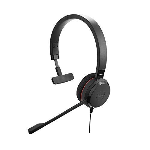 Jabra Evolve 20 SE UC – Auricular Monoaural de Comunicaciones...