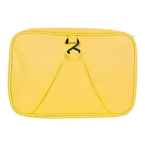 SALUTUY Bolsa de Almacenamiento de Gran Capacidad y Neceser Transpirable, para Viajar(Yellow)