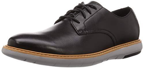 Clarks Herren Draper Lace Oxford-Schuh Oxfords, Schwarz, 45 EU