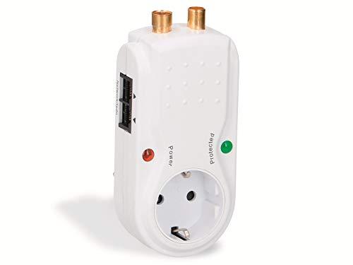 Überspannungsschutz-Gerätestecker GRUNDIG, 3680 W, RJ11, RJ45, TV
