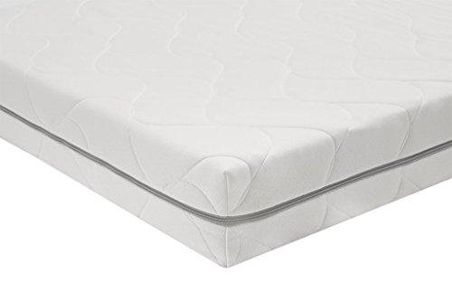 AmazonBasics Matelas en mousse ultra-confortable 7zones, Moyen (H3) - 90 x 200 cm